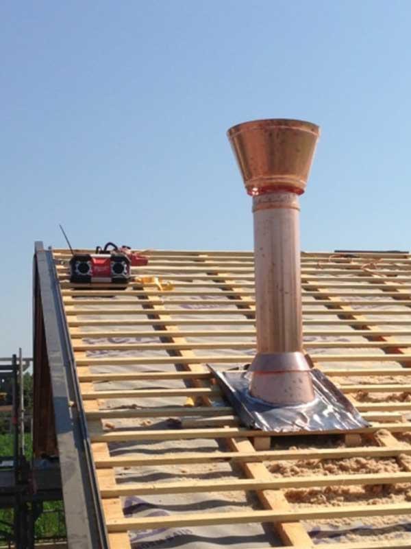 costruzione canna fumaria
